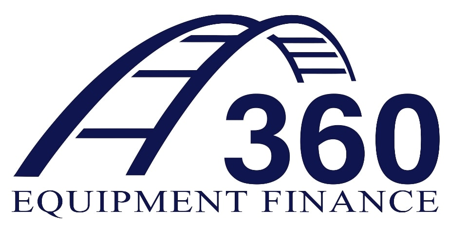 360 Equipment Finance White Logo